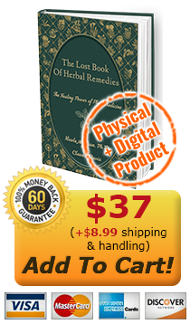 The Lost Book of Herbal Remedies - Physical Book